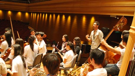Yoh Siew Toh Conservatory. Singapore. Orchestral composition and improvisation workshops
